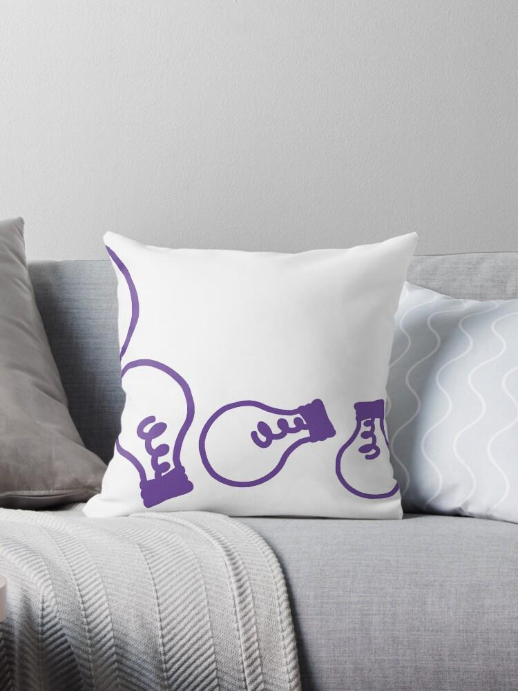 Han and Matt Throw Pillow by hannahandmatt
