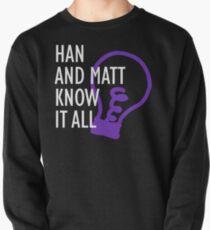 Han and Matt Logo Pullover