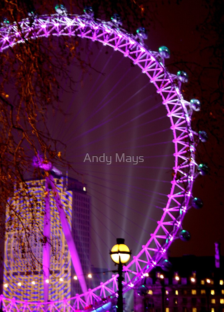 New Year London Eye 08-09 by Andy Mays