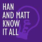 Han and Matt Logo Purple by hannahandmatt