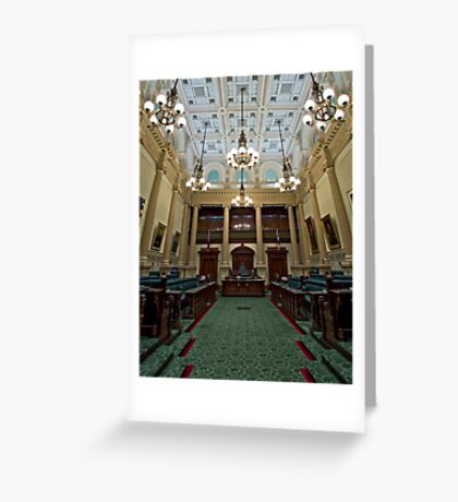 The House of Assembly Greeting Card