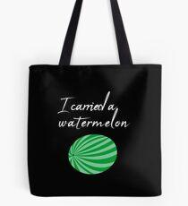 I carried a Watermelon / Gift Idea Tote Bag