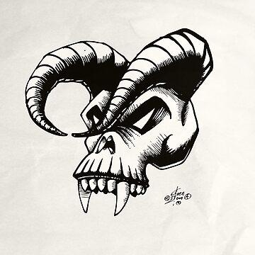 Devils skull by perovesleen
