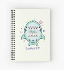 Sharkagotchi: Great White Shark Spiral Notebook