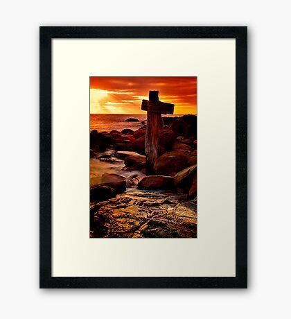 """""""Merciful Morning"""" Framed Print"""