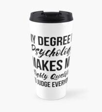 Psychology Degree Travel Mug