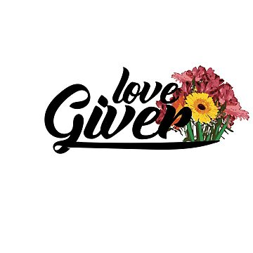 Love Giver sticker and t shirts by Mariokao