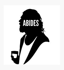 Dude Abides Photographic Print