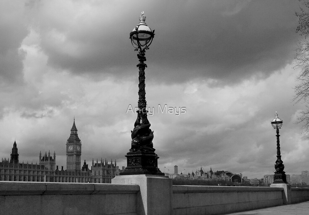 London Lamps 02 by Andy Mays