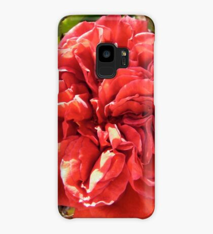 Red Rose Case/Skin for Samsung Galaxy