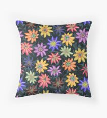 Pattern #77 - Passion flowers  Throw Pillow