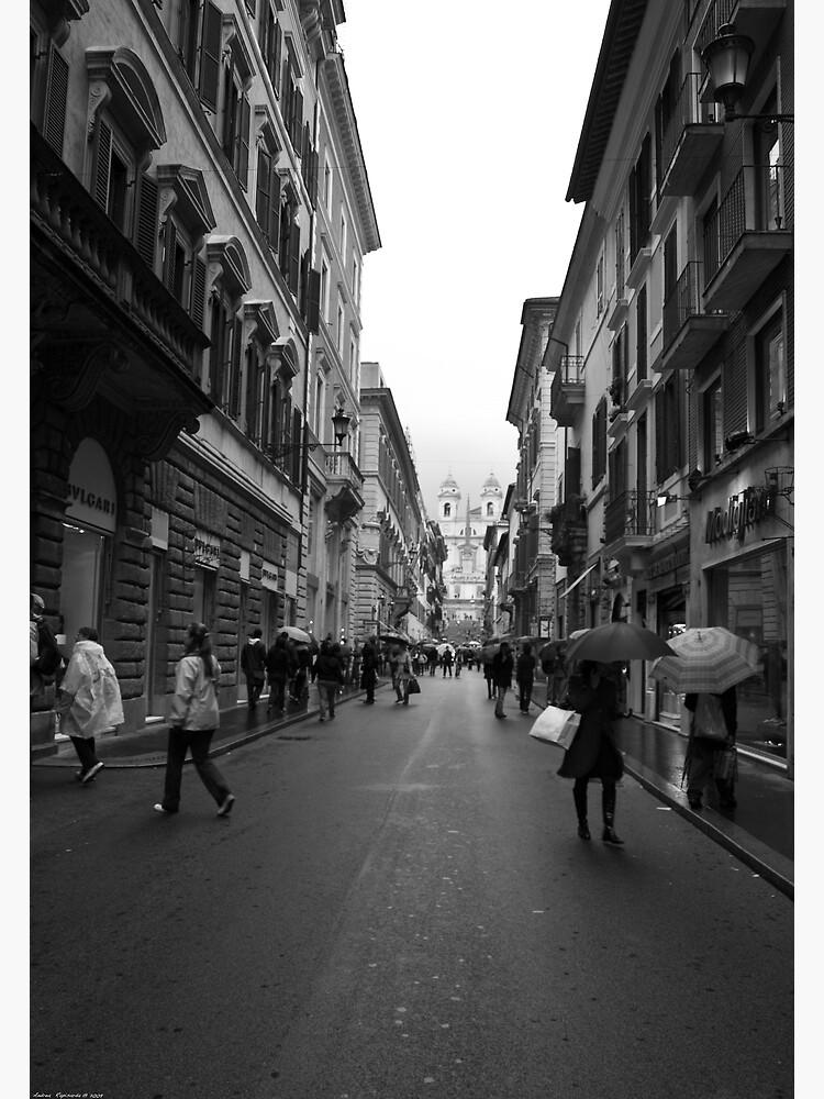 shopping in via Condotti, Rome by rapis60