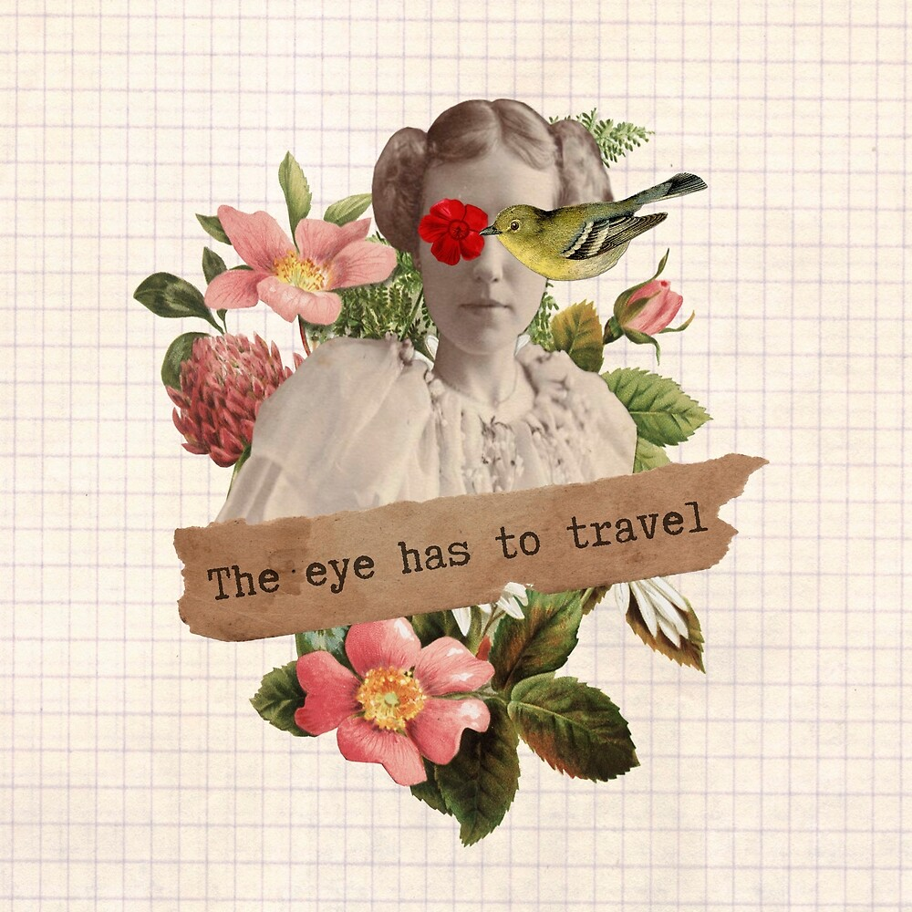 The Eye has to travel  by caligrafica