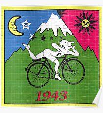 LSD - Albert Hofmann - Fahrradtag Poster