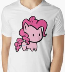 pinkie pie Mens V-Neck T-Shirt