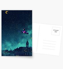 Midnight Flight Postcards