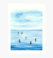 Beachlife 1 Art Print