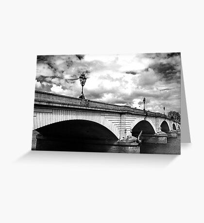 Putney Bridge Greeting Card