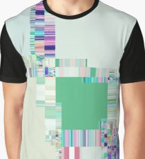 Abstract lines and colour green Graphic T-Shirt