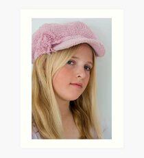 Do You Like My Trendy Hat? Art Print