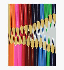 COLORED PENCILS Pop Art Photographic Print