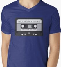 Kirk Van Houten Tape Men's V-Neck T-Shirt
