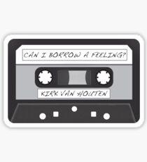 Kirk Van Houten Tape Sticker