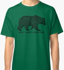 Great Smoky Mountains Place Names Classic T-Shirt