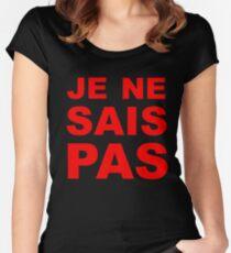 Je Ne Sais Pas Women's Fitted Scoop T-Shirt