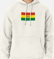 War Flag of Bolivia Pullover Hoodie