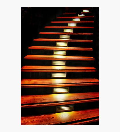 Stairway Suspended Photographic Print
