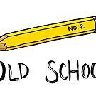 Old School Art: Pencil by manyhats