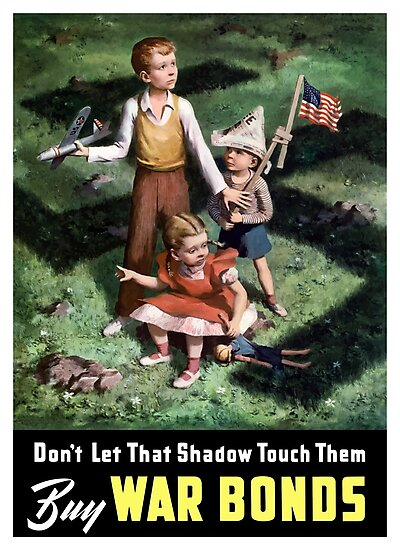 Don't Let That Shadow Touch Them - Buy War Bonds by warishellstore