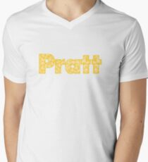 Pratt Institute Men's V-Neck T-Shirt