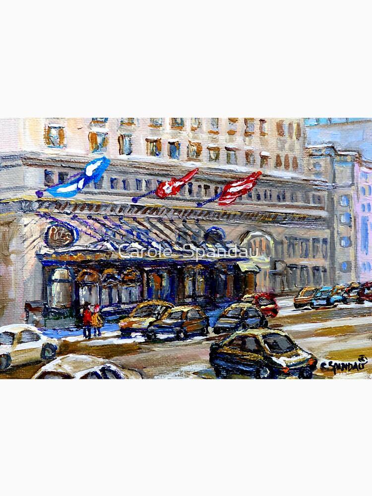 Quot Rue Sherbrooke Best Canadian Original Art For Sale Ritz
