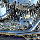 Symphony in chrome & blue by Philip Mitchell