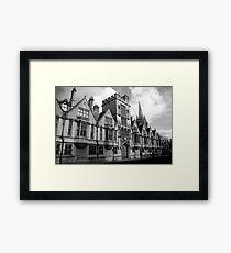 Oxford Street Framed Print