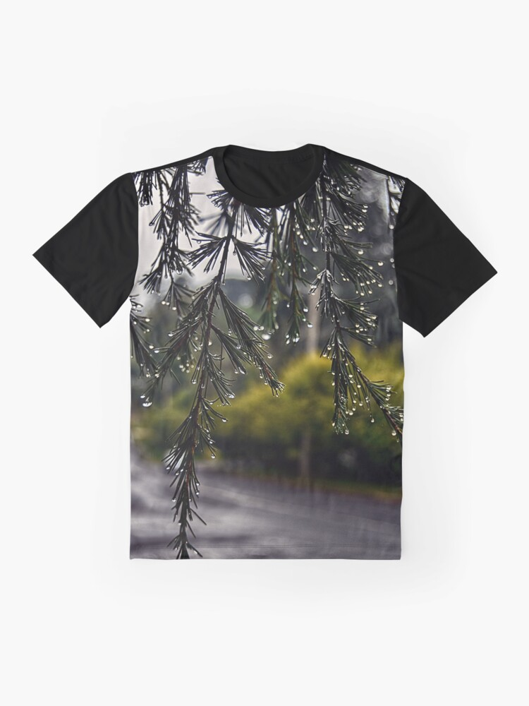 Alternate view of Rainy morning Graphic T-Shirt