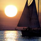 Sailing in the Sunset by Kevin Means