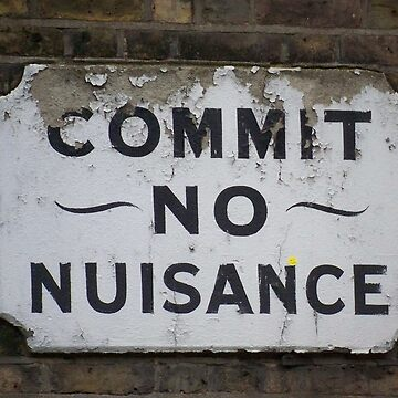 Commit no Nuisance by DELAVALLE