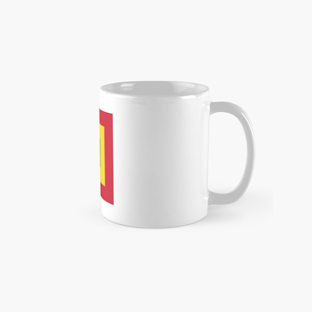 Naval Jack of Bolivia  Mugs