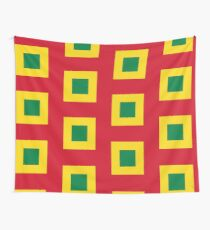 Naval Jack of Bolivia  Wall Tapestry