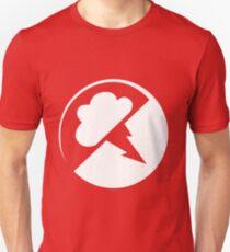 White/transparent Interlucid Logo Unisex T-Shirt