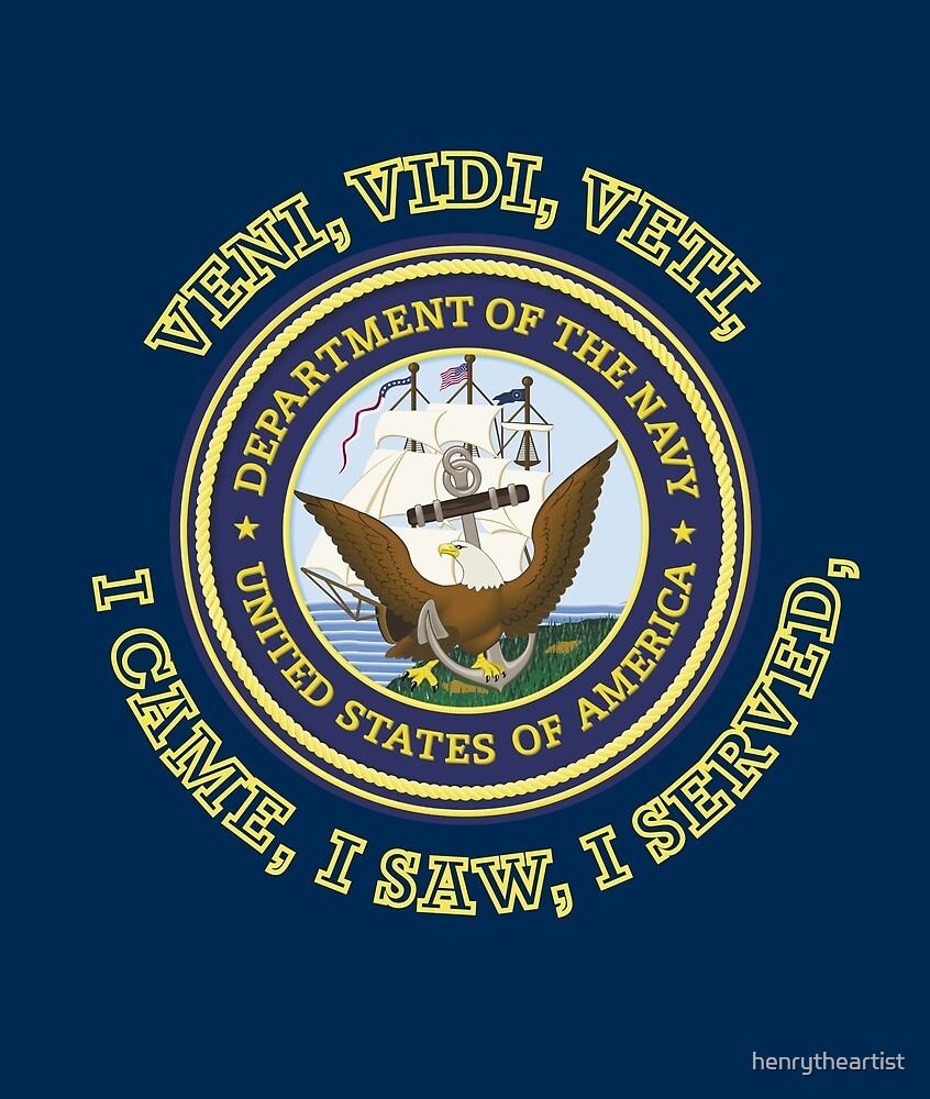 US Navy VVV Shield by henrytheartist