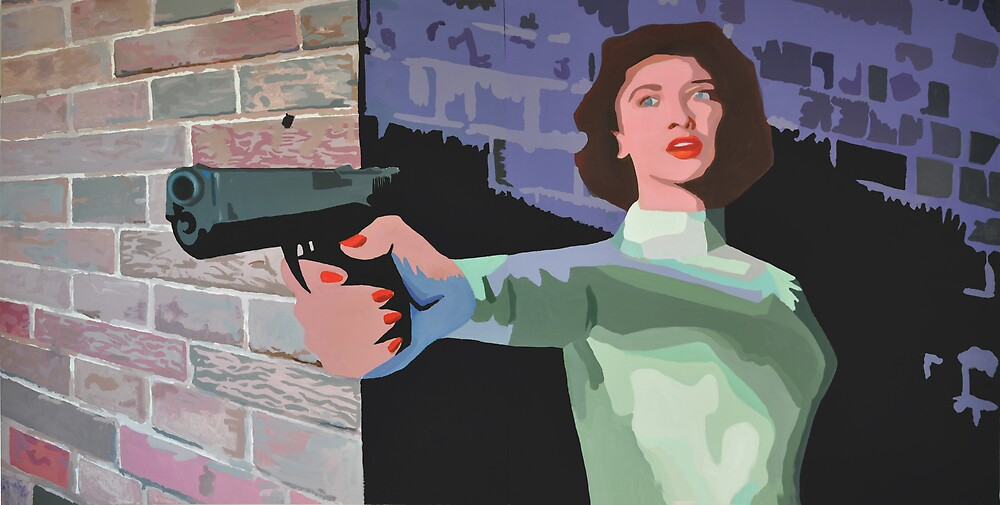 GIRL WITH A GUN by TexFX