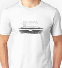 All work typed T-Shirt