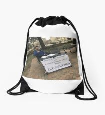 Cheese Drawstring Bag