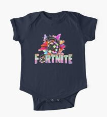 Fortnite Battle Royale - Boogie Bomb Color Explosion  One Piece - Short Sleeve