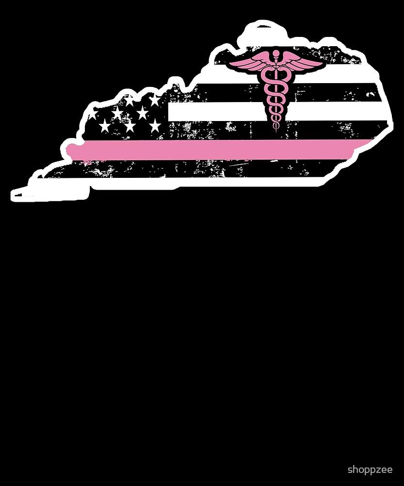 Kentucky Nurse T shirts For Women by shoppzee