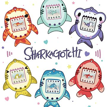 Sharkagotchi: 6 Species of Digital Pets! by bytesizetreas